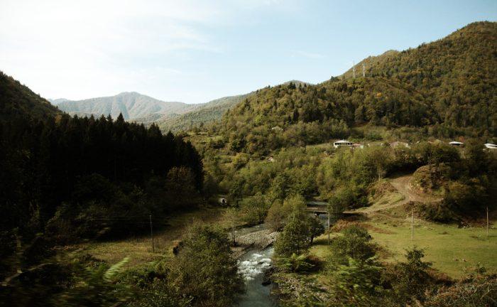 Reise nach Georgien Kutaisi und Berge